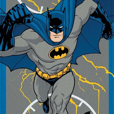 Toalha de Banho Infantil Felpuda Batman Lepper Padrão 04