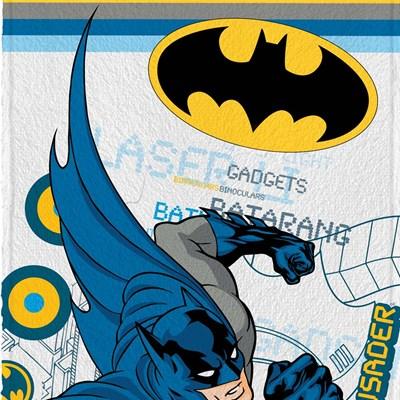Toalha de Banho Infantil Felpuda Batman Lepper Padrão 05
