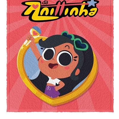 Toalha de Banho Infantil Felpuda Clube Anittinha Lepper 04
