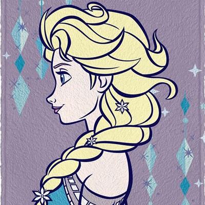 Toalha de Banho Infantil Felpuda Frozen Face Lepper 01
