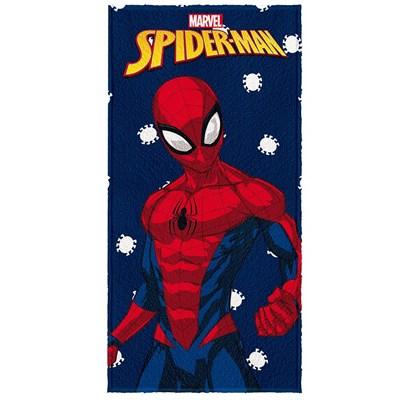 Toalha de Banho Infantil Felpuda H.Aranha Spider Lepper 01