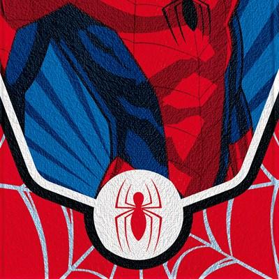 Toalha de Banho Infantil Felpuda H.Aranha Spider Lepper 02