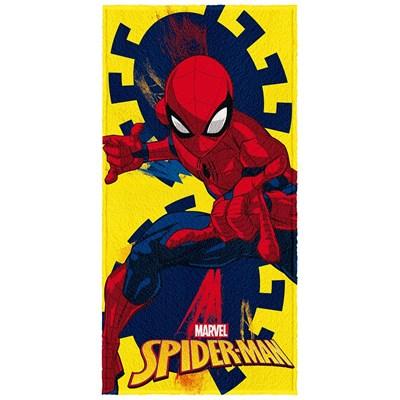 Toalha de Banho Infantil Felpuda H.Aranha Spider Lepper 03