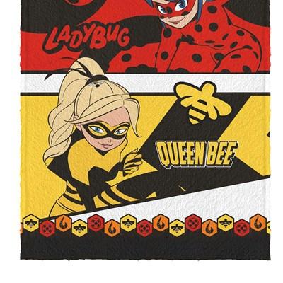 Toalha de Banho Infantil Felpuda LadyBug Lepper Padrão 03