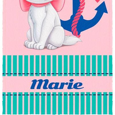 Toalha de Banho Infantil Felpuda Marie Lepper Padrão 2