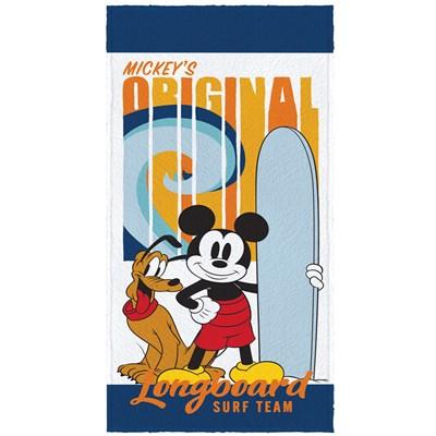 Toalha de Banho Infantil Felpuda Mickey Mouse Lepper