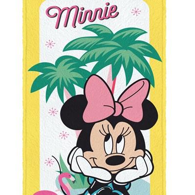 Toalha de Banho Infantil Felpuda Minnie Mouse Lepper