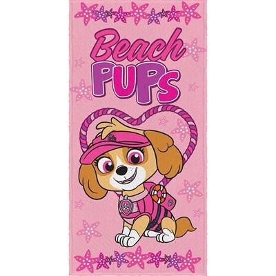 Toalha de Banho Infantil Felpuda Patrulha Canina Lepper 01