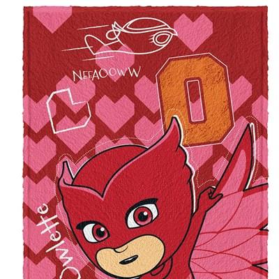 Toalha de Banho Infantil Felpuda PJ Masks Lepper Padrão 02