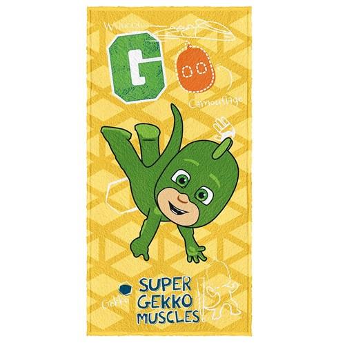 Toalha de Banho Infantil Felpuda PJ Masks Lepper Padrão 03
