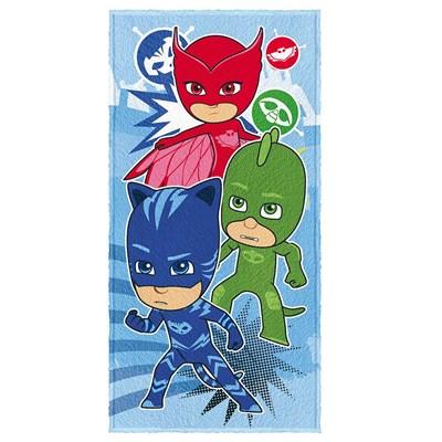 Toalha de Banho Infantil Felpuda PJ Masks Lepper Padrão 05