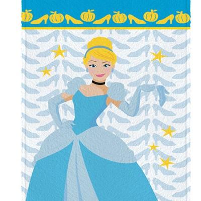 Toalha de Banho Infantil Felpuda Princesas Disney Lepper