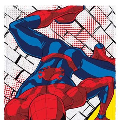 Toalha de Banho Infantil Felpuda Spider Man 2 Lepper