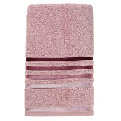 Toalha de Banho Karsten Lumina Fio Penteado Cor Rosê