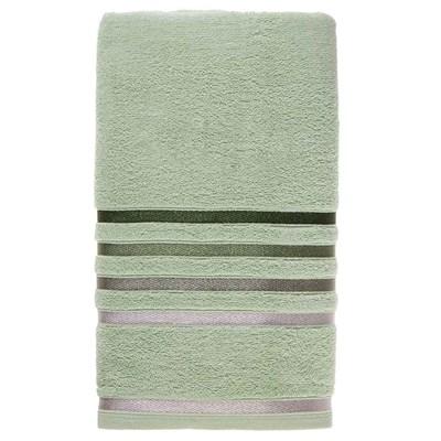 Toalha de Banho Karsten Lumina Fio Penteado Cor Verde Claro