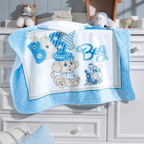 Toalha de Banho Para Bebês com Capuz Dohler Velour