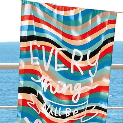 Toalha de Banho Praia e Piscina Aveludada Dohler 2