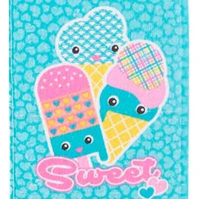 Toalha de Lancheira Felpuda Infantil Candy Teka