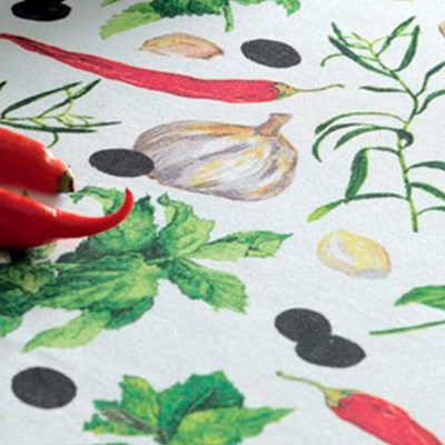 Toalha de Mesa Karsten 100% Algodão Quadrada 1,40 Pepper