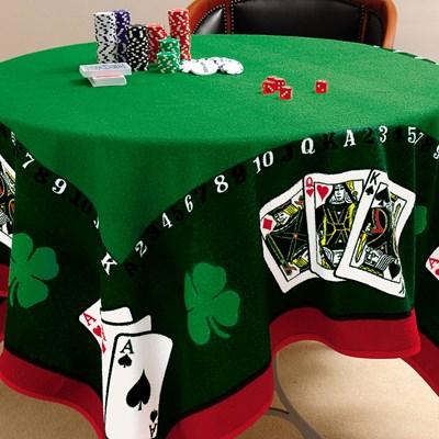 Toalha de Mesa para Jogos Jocker 1,55m x 1,55m Lepper