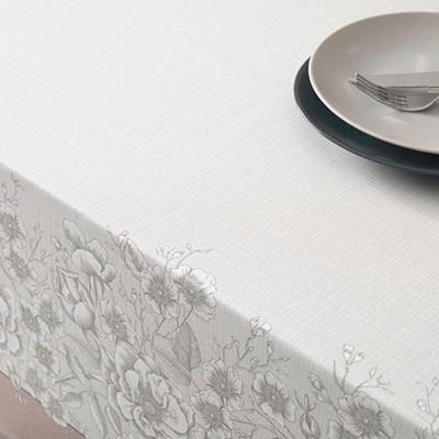 Toalha de Mesa Quadrada 1,40 Karsten Limpa Fácil