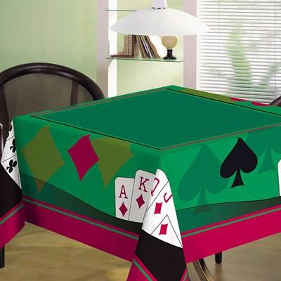 Toalha de Mesa Quadrada Para Jogos Teka Cassino Cartas