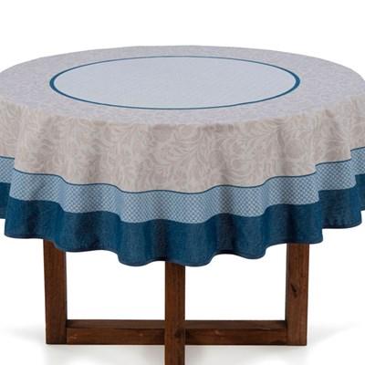 Toalha de Mesa Redonda 1,60 Karsten Limpa Fácil