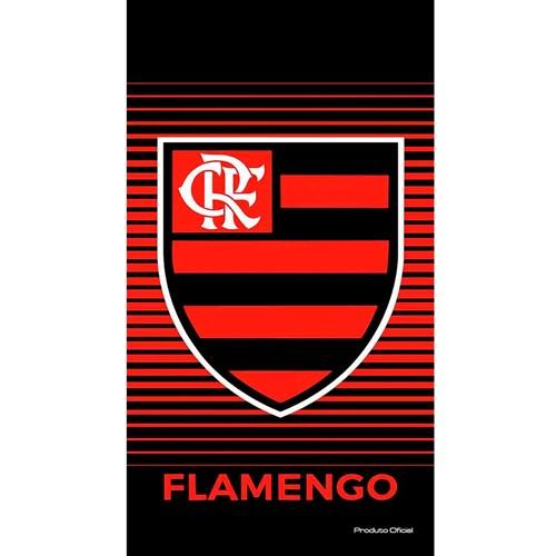 Toalha de Praia Aveludada 100% Algodão Flamengo Buettner