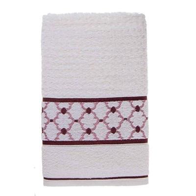 Toalha de Rosto Karsten Lavine Cor Branca