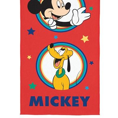 Toalha Praia e Piscina Aveludada Transfer Mickey II Lepper