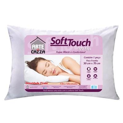 Travesseiro Fibra Siliconada 170 Fios Soft Touch
