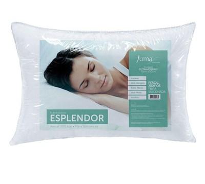 Travesseiro Fibra Siliconada Esplendor Plus 200 Fios Juma