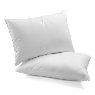 Travesseiro Fibra Siliconada Percal 200 Fios Densidade Firme Arte Cazza.