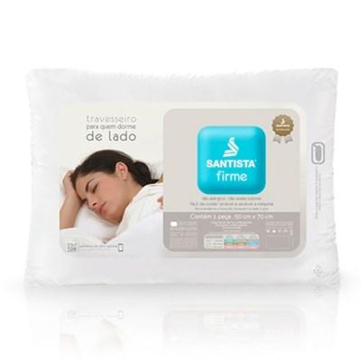 Travesseiro Firme para Quem Dorme de Lado Santista